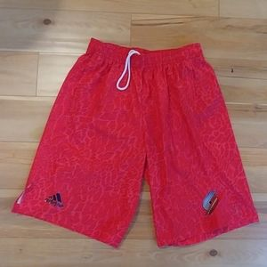 NEW adidas trailblazers basketball shorts men's M